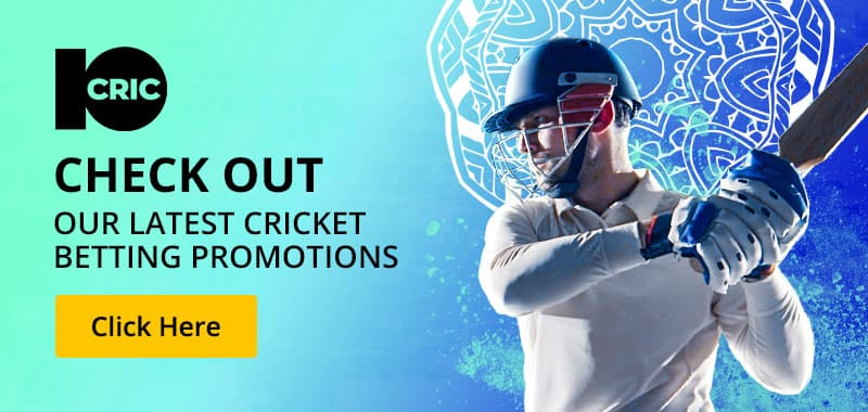 Latest Cricket Promotions