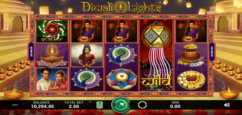 Diwali Lights Casino Game
