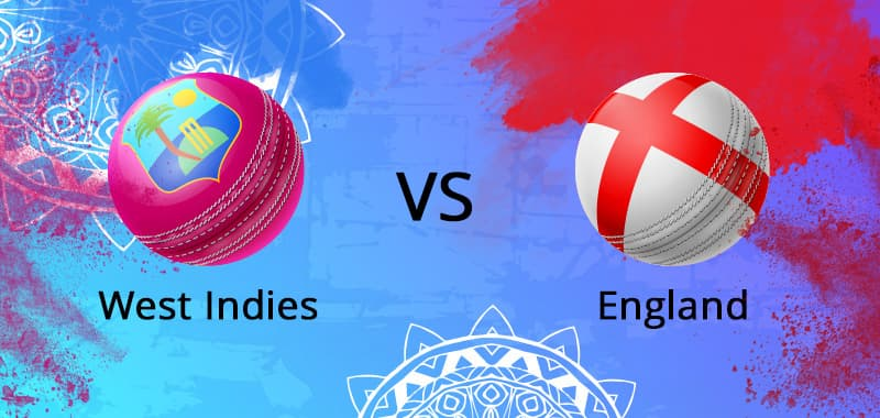 WI vs ENG Betting Odds