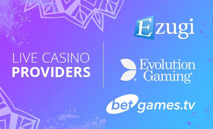 Live Casino Game Providers