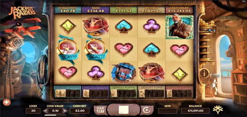 Jackpot Raiders Online Slot Casino