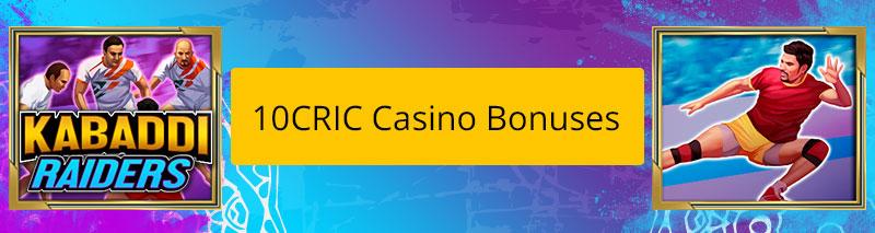 Kabaddi Raiders Casino Bonuses