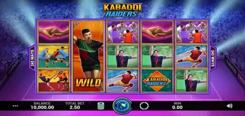 Kabaddi Raiders Online Slot