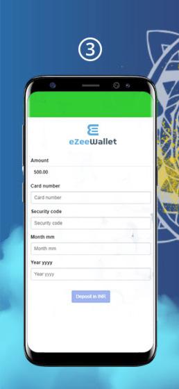 Ezeewallet Deposit Step 3