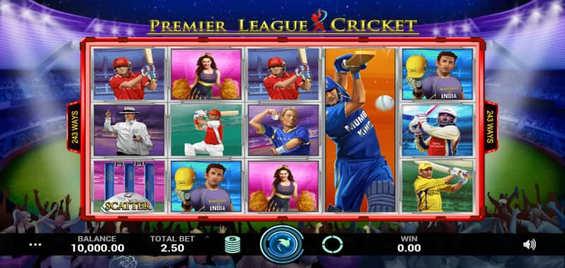 Cricket Slot Game
